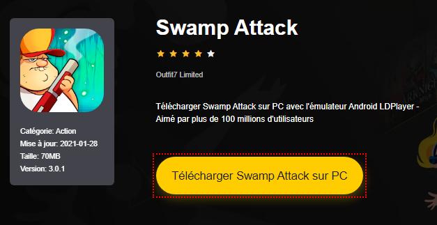 Installer Swamp Attack sur PC