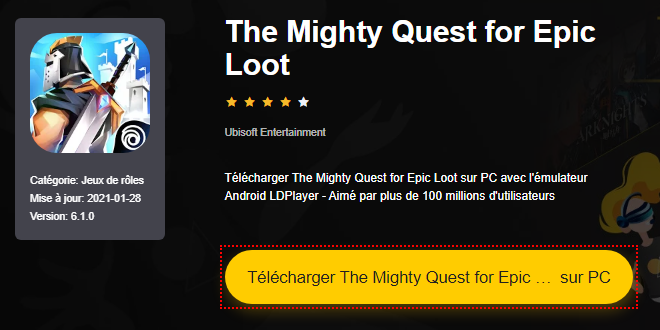 Installer The Mighty Quest for Epic Loot sur PC