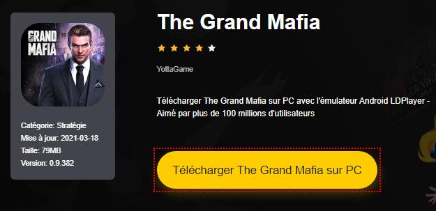 Installer The Grand Mafia sur PC
