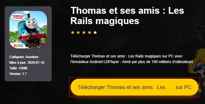 Installer Thomas et ses amis : Les Rails magiques sur PC