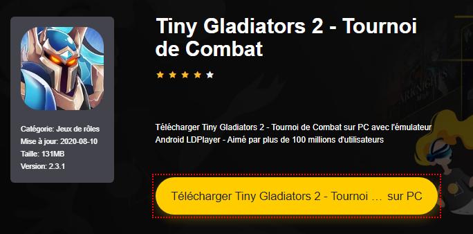 Installer Tiny Gladiators 2 - Tournoi de Combat sur PC