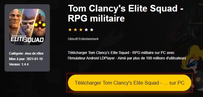 Installer Tom Clancy's Elite Squad - RPG militaire sur PC
