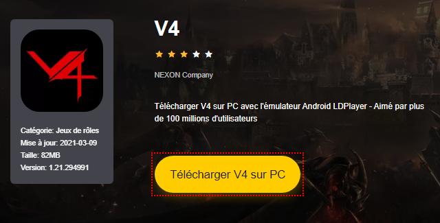 Installer V4 sur PC