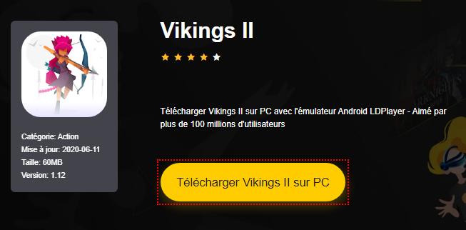 Installer Vikings II sur PC