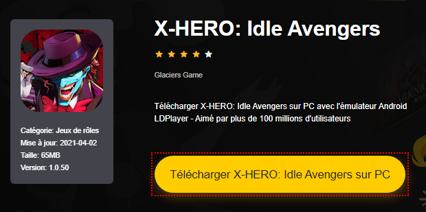 Installer X-HERO: Idle Avengers sur PC