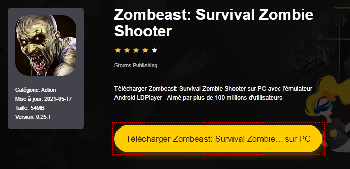 Installer Zombeast: Survival Zombie Shooter sur PC