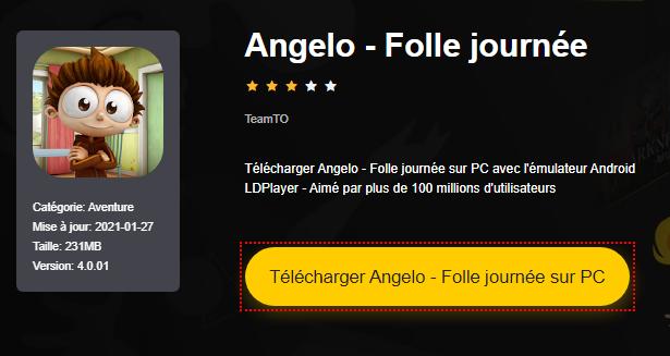 Installer Angelo - Folle journée sur PC