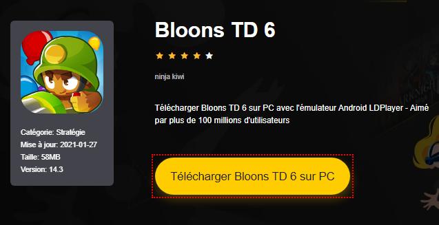 Installer Bloons TD 6 sur PC