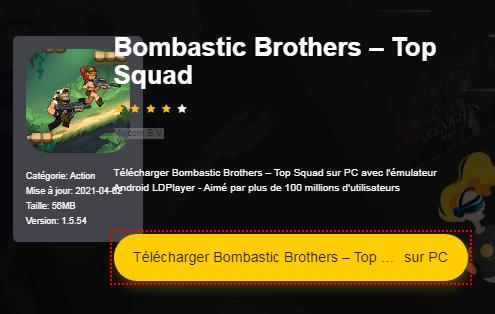 Installer Bombastic Brothers – Top Squad sur PC
