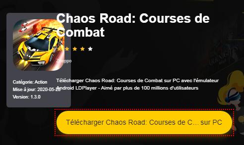 Installer Chaos Road: Courses de Combat sur PC