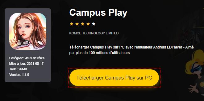 Installer Campus Play sur PC