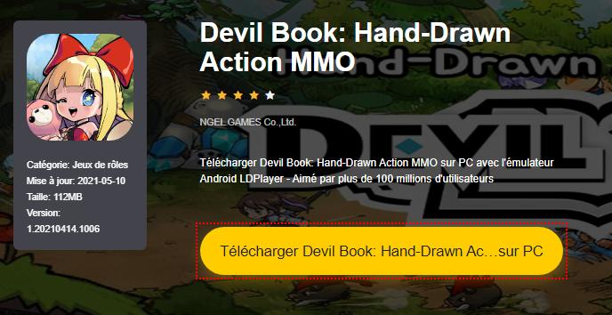 Installer Devil Book: Hand-Drawn Action MMO sur PC