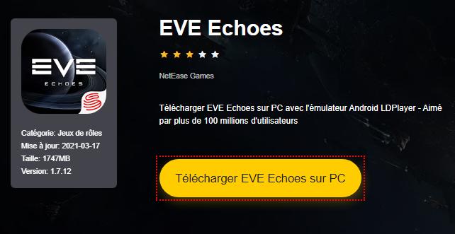Installer EVE Echoes sur PC