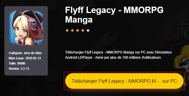 Installer Flyff Legacy - MMORPG Manga sur PC