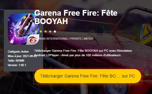 Installer Garena Free Fire sur PC
