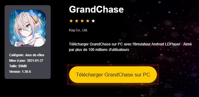 Installer GrandChase sur PC