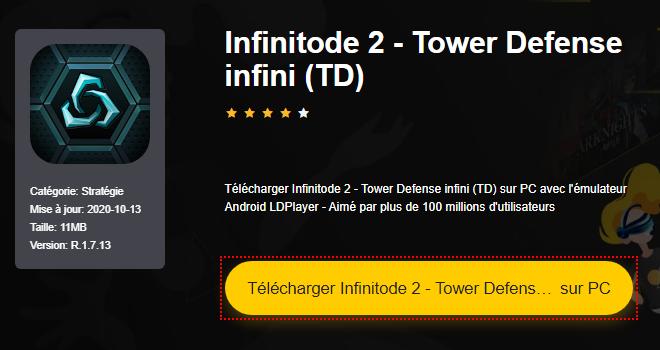 Installer Infinitode 2 - Tower Defense infini (TD) sur PC