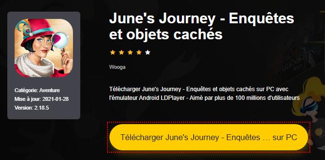 Installer June's Journey - Enquêtes et objets cachés sur PC