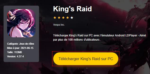 Installer King's Raid sur PC