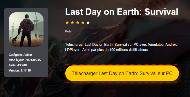 Installer Last Day on Earth: Survival sur PC