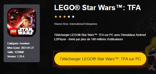 Installer LEGO® Star Wars™: TFA sur PC