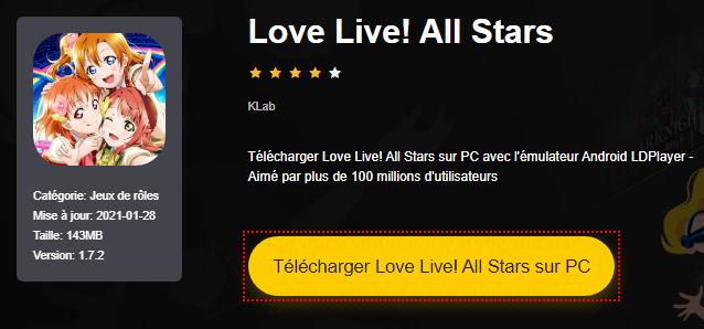 Installer Love Live! All Stars sur PC