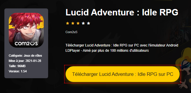 Installer Lucid Adventure : Idle RPG sur PC