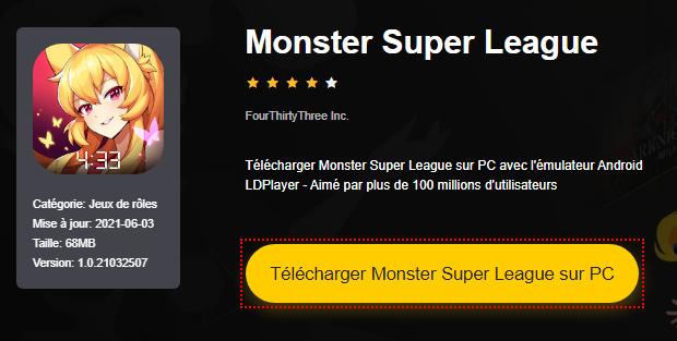 Installer Monster Super League sur PC