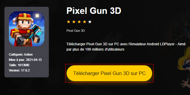 Installer Pixel Gun 3D sur PC