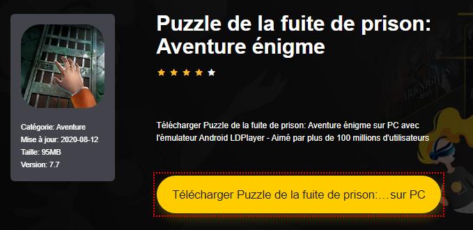 Installer Puzzle de la fuite de prison: Aventure énigme sur PC