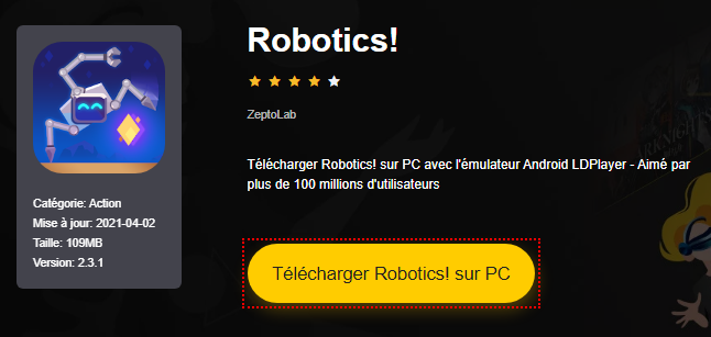 Installer Robotics! sur PC