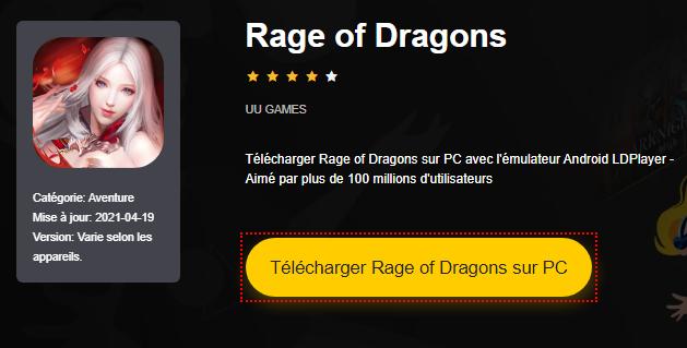 Installer Rage of Dragons sur PC
