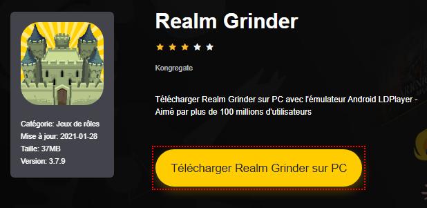 Installer Realm Grinder sur PC