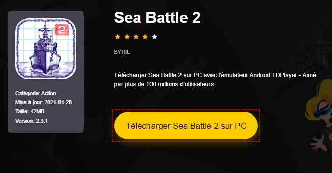 Installer Sea Battle 2 sur PC