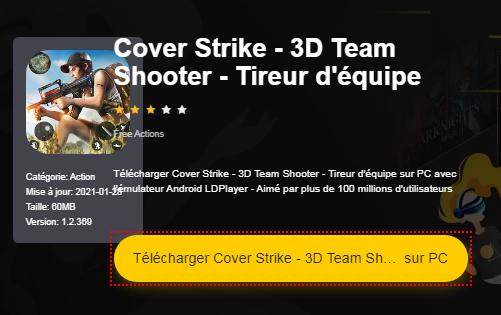 Installer Cover Strike - 3D Team Shooter - Tireur d'équipe sur PC