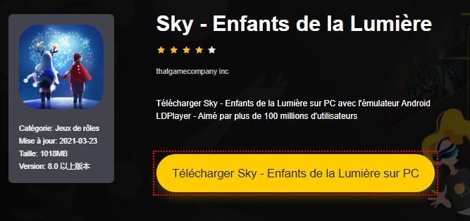 Installer Sky - Enfants de la Lumière sur PC
