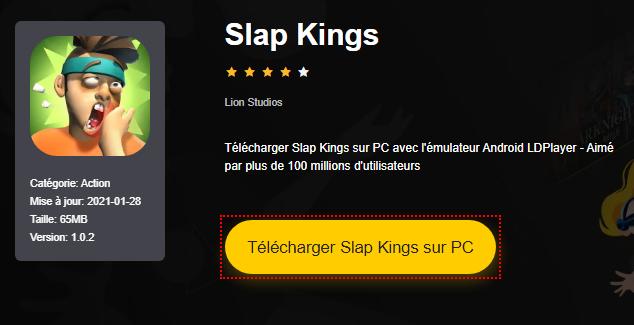 Installer Slap Kings sur PC