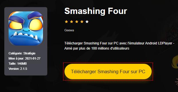 Installer Smashing Four sur PC