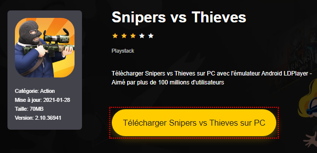 Installer Snipers vs Thieves sur PC