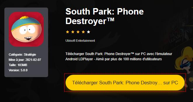 Installer South Park: Phone Destroyer™ sur PC