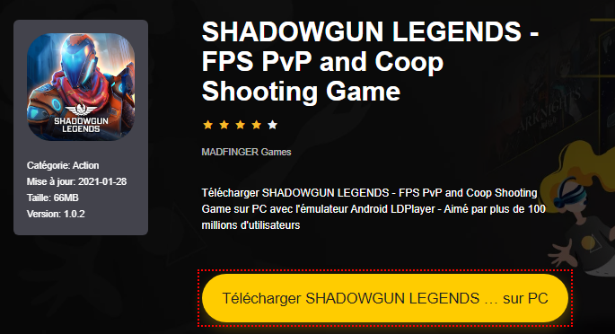 Installer SHADOWGUN LEGENDS - FPS PvP and Coop Shooting Game sur PC