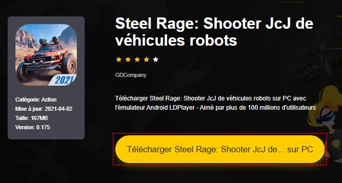 Installer Steel Rage: Shooter JcJ de véhicules robots sur PC