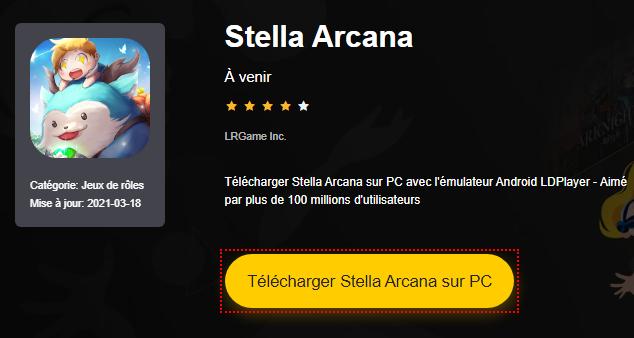 Installer Stella Arcana sur PC