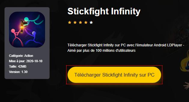 Installer Stickfight Infinity sur PC