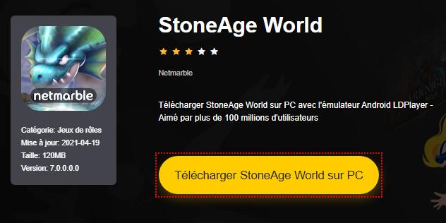 Installer StoneAge World sur PC