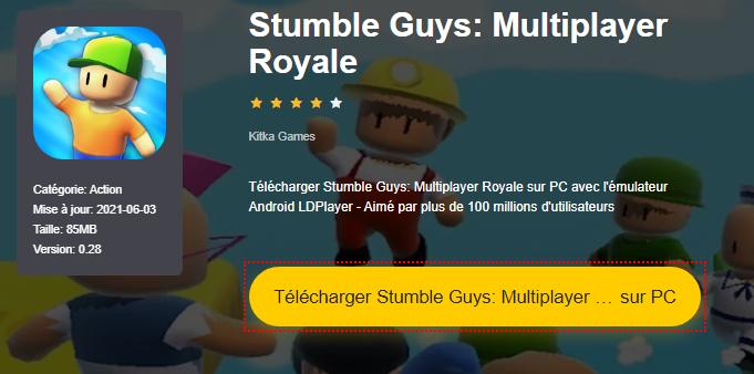 Installer Stumble Guys: Multiplayer Royale sur PC