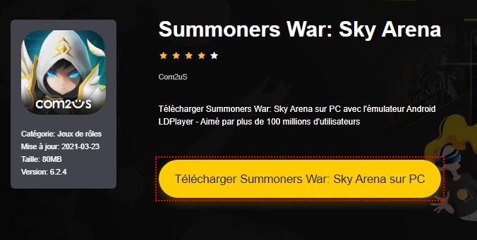 Installer Summoners War: Sky Arena sur PC