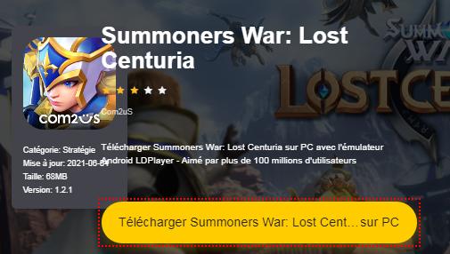 Installer Summoners War: Lost Centuria sur PC