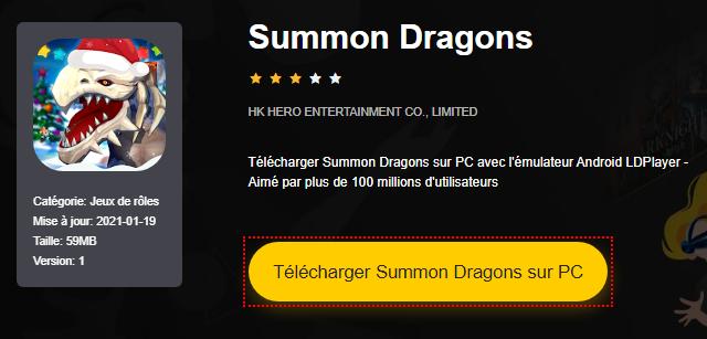 Installer Summon Dragons sur PC