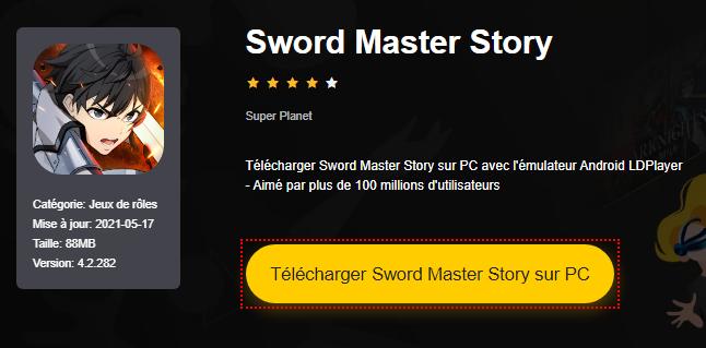 Installer Sword Master Story sur PC